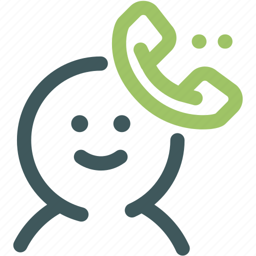 Resource, help, customer service, support, call, human, call center icon