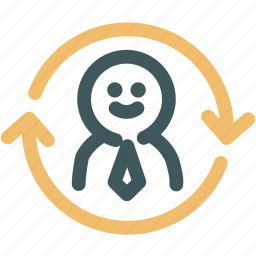department, human, human resources, resource, resources, synergy icon