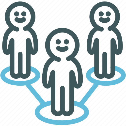 business team, human, networking, resource, standout, team, teamwork icon