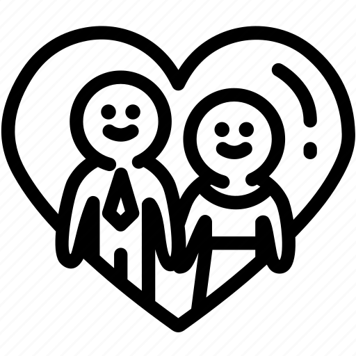 couple, heart, human, love, lover, relationship, resource icon
