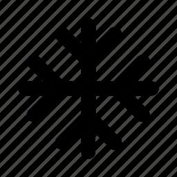 cold, snow, snowflake, star, winter icon