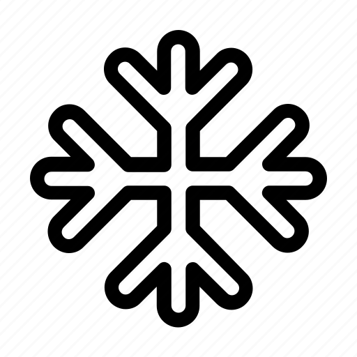 cold, frozen, snow, snowflake icon