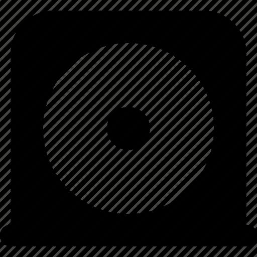 disc, drive icon