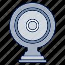 camera, securitycamera, video streaming, webcam icon
