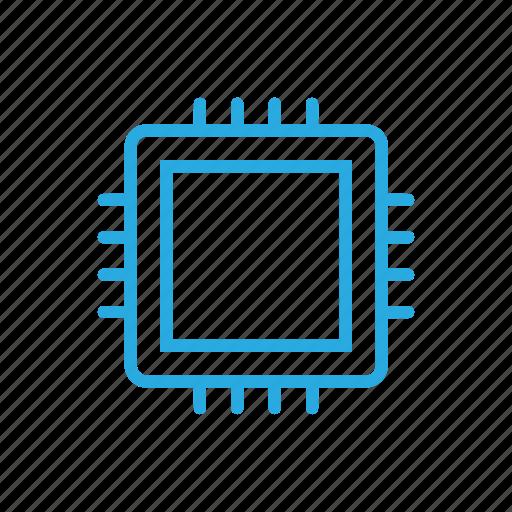chip, chipset, hardware, processor icon