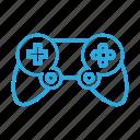 controller, game, gamepad, hardware icon