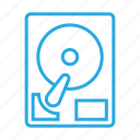 data, harddisc, hardware, storage icon