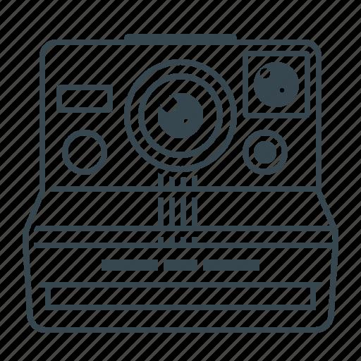 cam, camera, photo, photography, polaroid icon