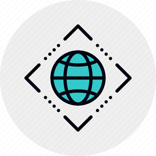 complex, global, interconnection, internet, net, web, worldwide icon