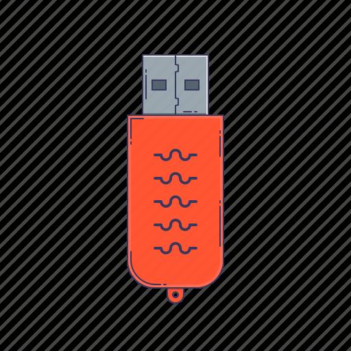 device, flash, hardware, memory, technique icon