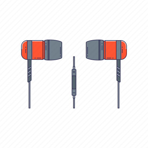 device, gag, hardware, headphones, technique icon