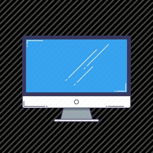 device, hardware, monitor, monoblock, technique icon
