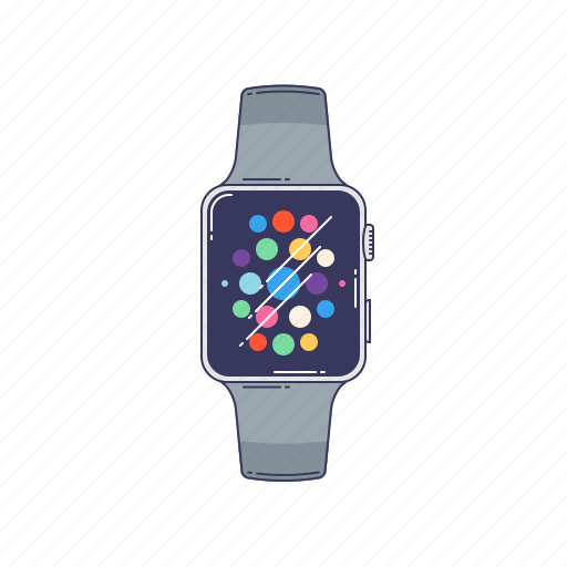 clock, device, hardware, technique, watch icon