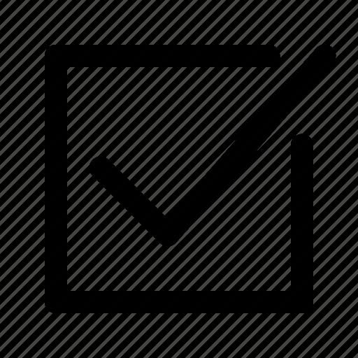 box, check, check box, checkbox icon