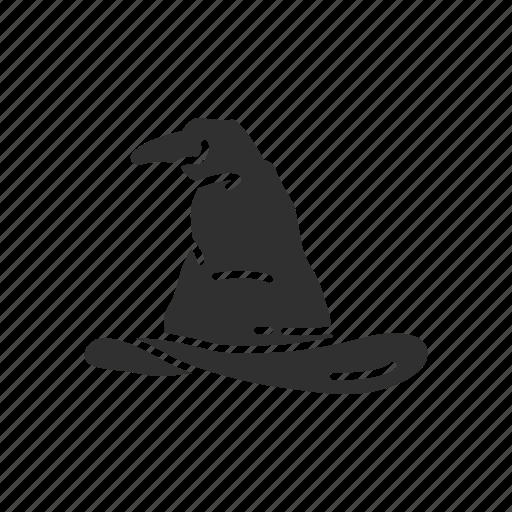 cap, dunce cap, fashion, halloween hat, hat, witch hat, wizard hat icon