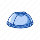 brimless cap, cap, hat, jewish hat, kippah, yarmulke