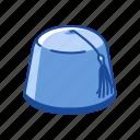 cap, clothing, fez, fez hat, hat, red felt hat, tarboosh
