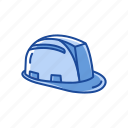 cap, construction hat, construction helmet, hat, head protection, head protector, helmet icon