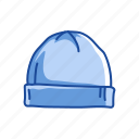 bonnet, bulgar hat, cap, fashion, hat, winter hat icon