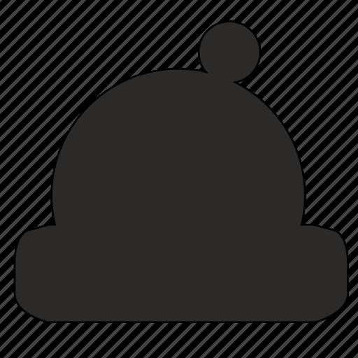 hat, head, winter, wool icon