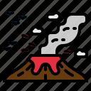 disaster, eruption, honolulu, lava, volcano