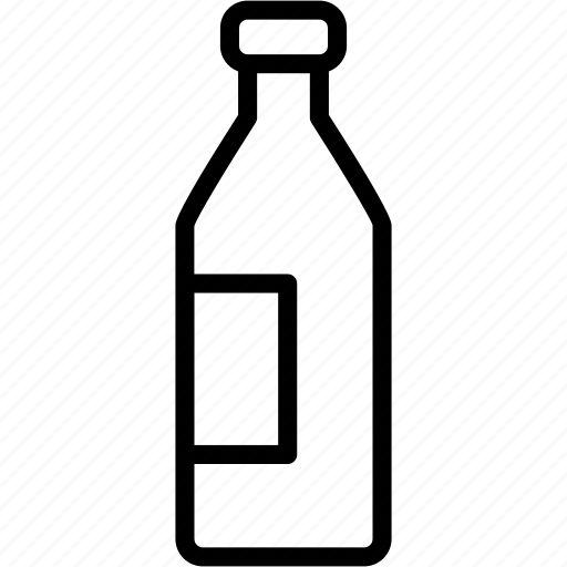 alcoholic, beverages, bottle, drink, milk, water, wine icon
