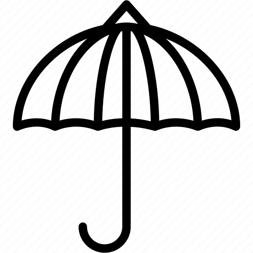 protection, rain, shadow, sunshade, umbrella, weather icon