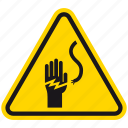 caution, danger, death, electric, electricity hazard, hazard, warning icon