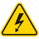 attention, danger, death, electric hazard, hazard, shock, warning icon