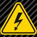 attention, danger, death, electric hazard, hazard, shock, warning