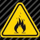 fire, flammable, danger, warning, hazard, emergency, flame