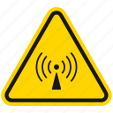 danger, hazard, internet, non ionizing radiation, radiation, warning, wi-fi