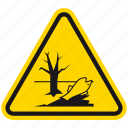 danger, death, hazard, poison, poison water, poisonous, warning icon