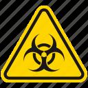 bacteria, danger, disease, hazard, infection, virus, warning