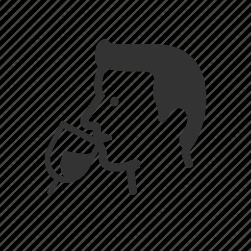 avatar, drink, human, men, win icon