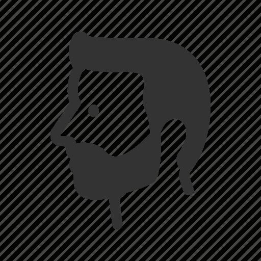 avatar, beard, hipster, human, men, user icon
