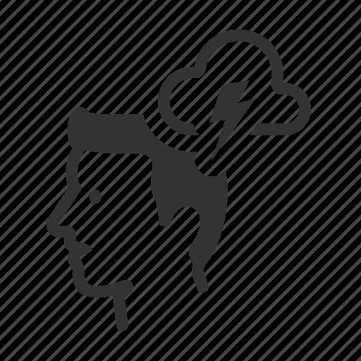 Avatar, brainstorming, business, creativity, head, idea icon - Download on Iconfinder