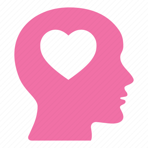 favorite, head, heart, like, love, loving, romantic icon