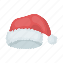 hat, headdress, headwear, santa icon