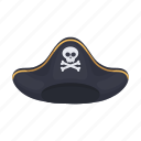 hat, headdress, headwear, pirate icon