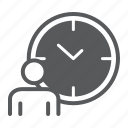 time, managment, person, clock, deadline, working, hours