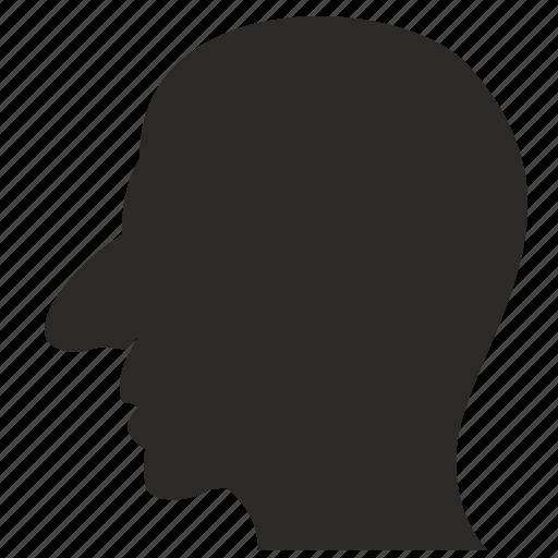 face, man, nose, shnobel, ugly icon