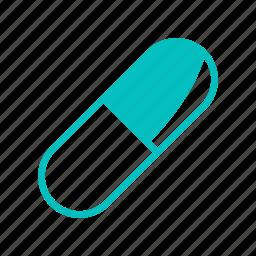 capsule, drug, medicine, pharmacy, pill, tablet icon