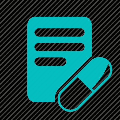 drug, medicine, prescribe, prescription icon