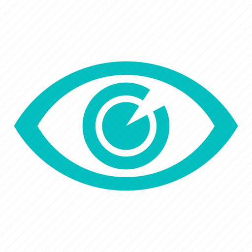 eye, iris, opthalmology, see, view icon