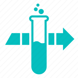 chemistry, lab, laboratory, process, science, tube icon