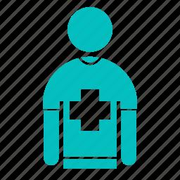 crew, emergency, hospital, medical, paramedic icon