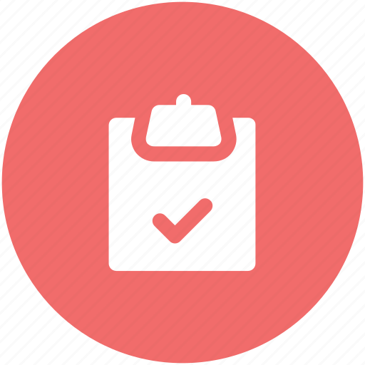 checklist, diet chart, medications, prescriptions, tick mark icon