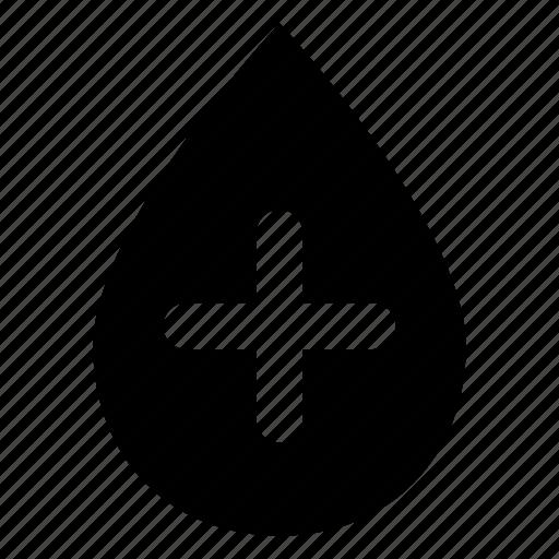 add, drop icon