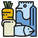 bread, diet, food, healthy, meal, mill icon
